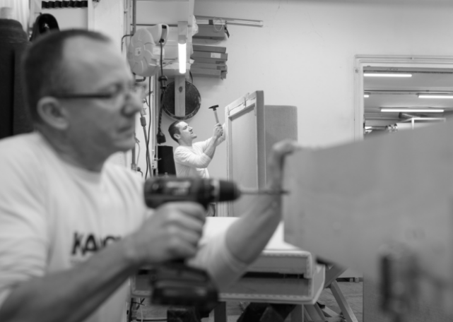 In-house production, KAUCH upholstery